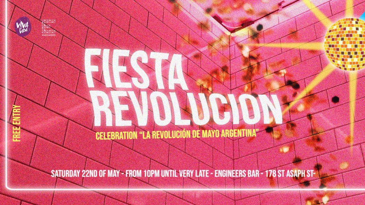 Fiesta revolución